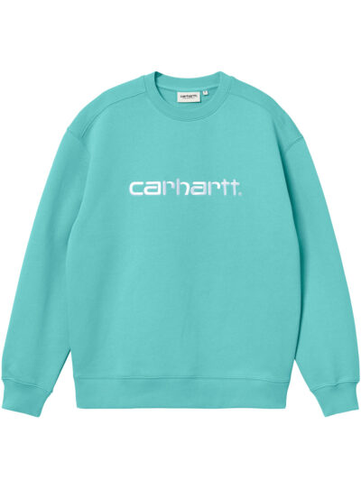 Carhartt WIP Women Carhartt Sweat bondi white 1