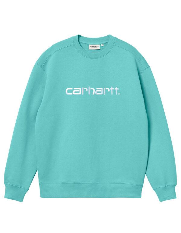 Carhartt WIP Women Carhartt Sweat bondi white 1