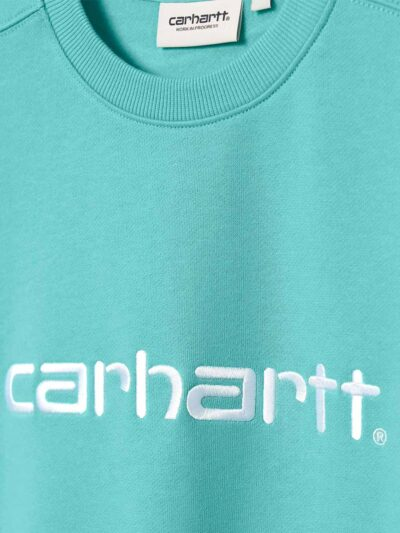 Carhartt WIP Women Carhartt Sweat bondi white DETAIL 2