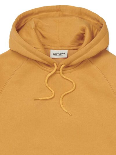 Carhartt WIP Womens Hooded Chase Sweat winter sun DETAIL