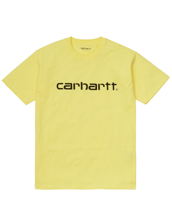 Carhartt-WIP Womens SS Script Tee limoncello