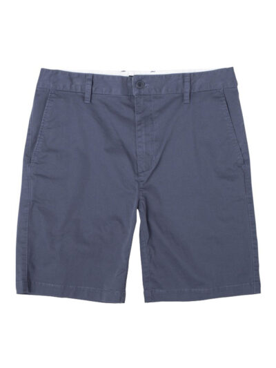 RVCA Daggers Chino Short moody blue