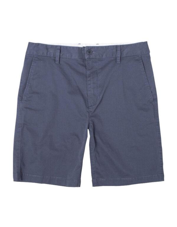 RVCA Daggers Chino Short moody blue