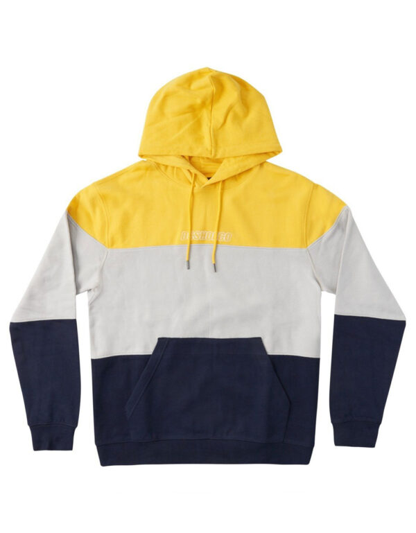 Downing Pullover Hood yellow 1