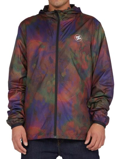 DC Shoes Dagup Reversable Pullover Windbreaker multi MODEL1