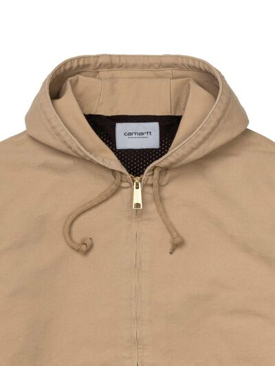 Carhartt WIP Active Jacket (summer) dusty hamilton brown DETAIL