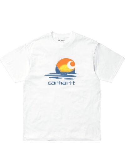 Carhartt WIP SS Lagoon Tee white 1
