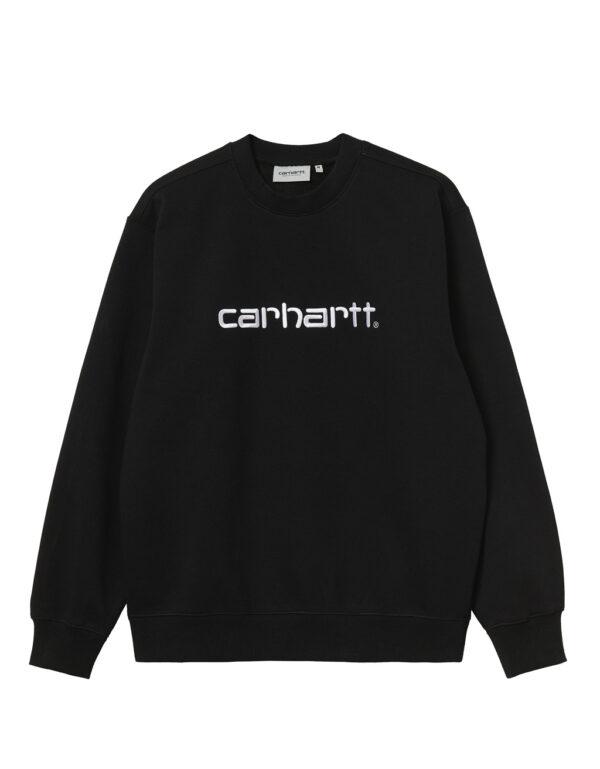 Carhartt WIP Carhartt Sweat black white 1
