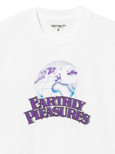 Carhartt WIP Earthly Pleasures white DETAIL