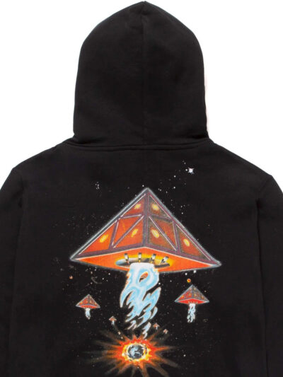 HUF Doomsday Hooded Sweat 3