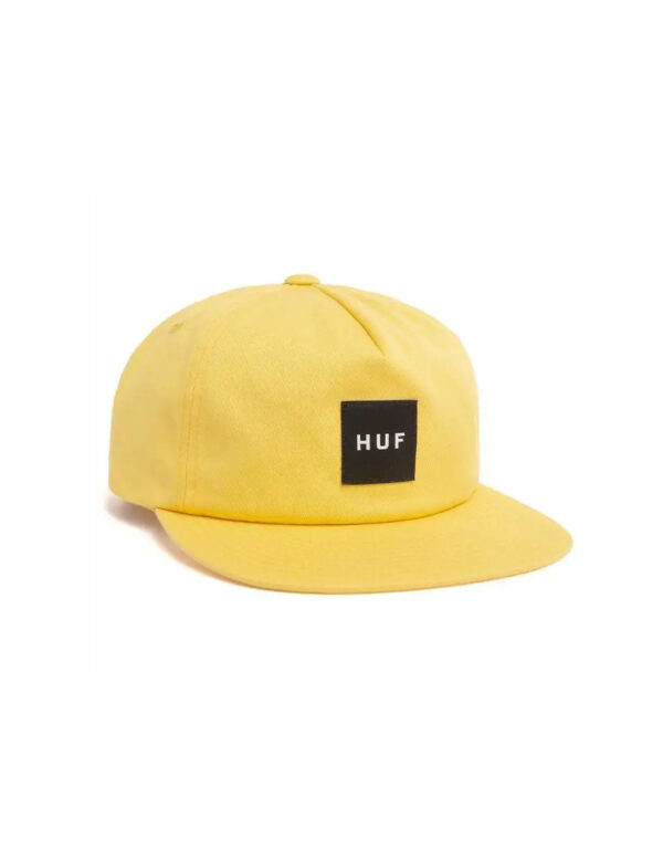 HUF Essential Unstructured box Snapback golden spice 1
