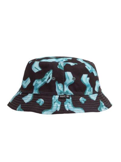 HUF HER Reversible Bucket Hat black 3