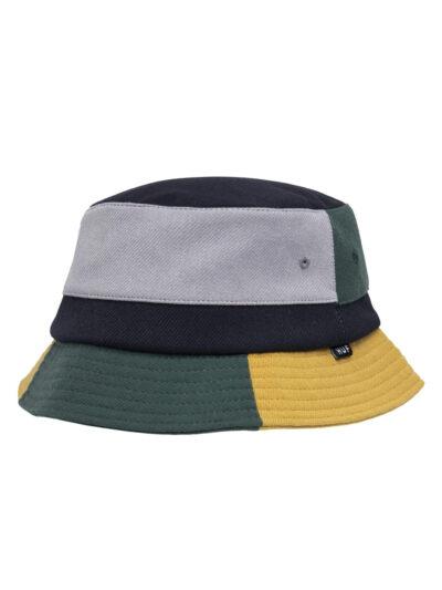 HUF Meadows Bucket Hat navy blazer 1