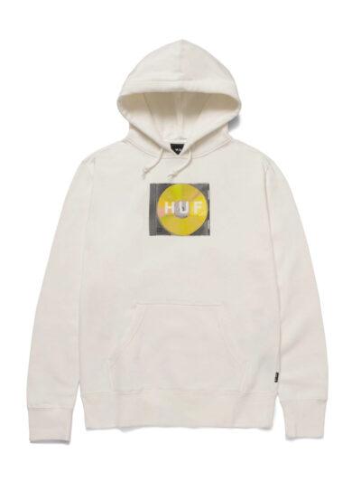 HUF Mix Box Logo Pullover Hood white 1
