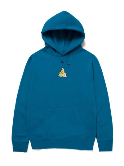 HUF Pushing Daisies TT Pullover hood blue 1