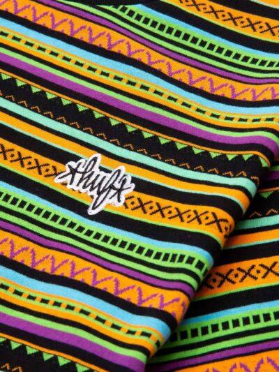 HUF SS Topanga Knit Tee poppy DETAIL 2