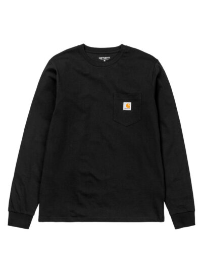 LS Pocket Tee BLACK