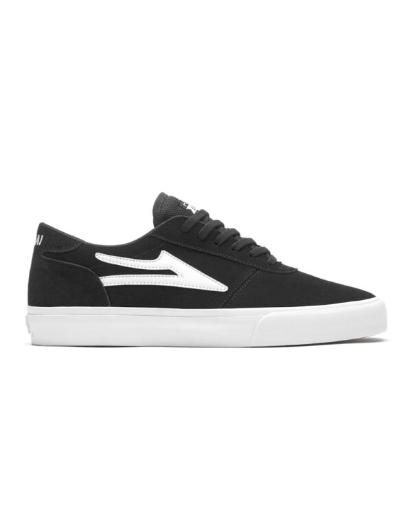 Lakai Manchester shoe black suede 1