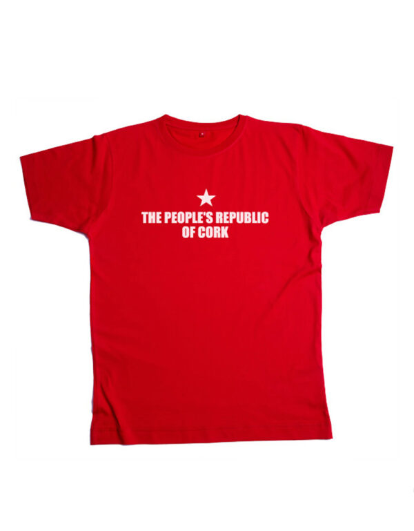 Peoples Republic Stock image red tee