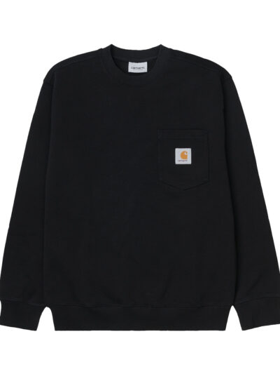 Pocket Sweat black