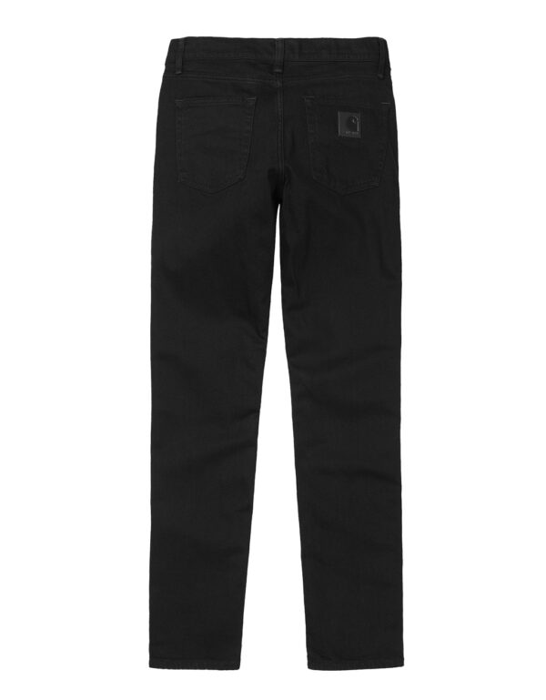 REBEL Pant BLACK RINSED