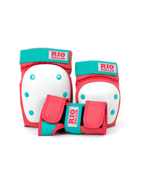 Rio Roller Safety Pads red mint 1