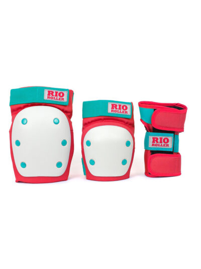 Rio Roller Safety Pads red mint 2