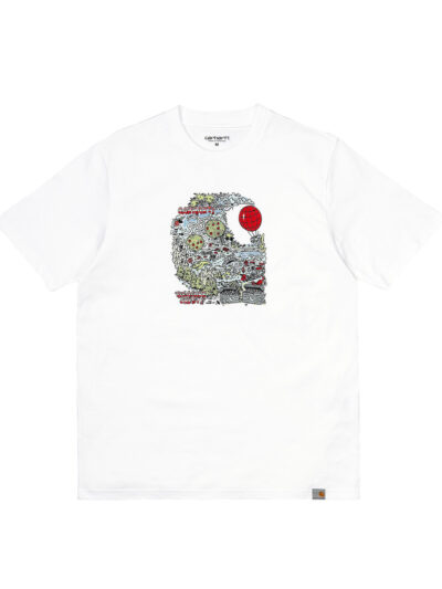 Carharrtt SS Treasure Tee white