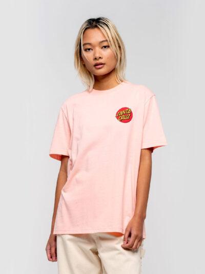 Santa Cruz SS Classic Dot T Shirt blossom 2