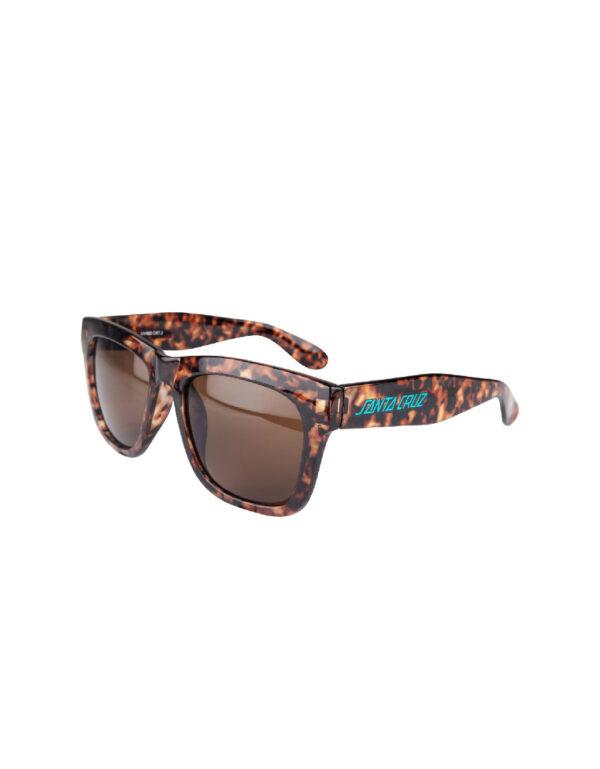 Santa Cruz Strip II Sunglasses brown tortoiseshell 1