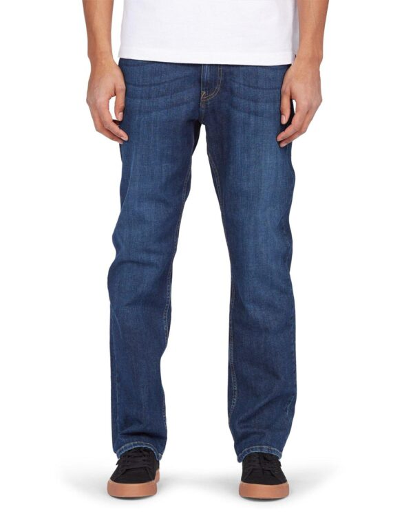 DC Shoes Worker Straight Jeans medium stone wash MODEL2