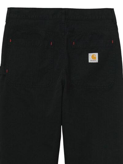 Carhartt WIP Wesley Pant black garment dyed DETAIL