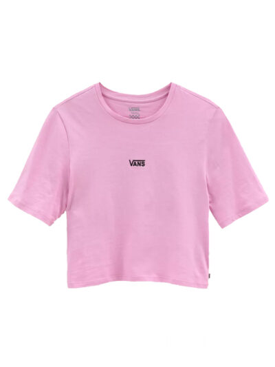 Vans Women Flying V crop Tee orchid