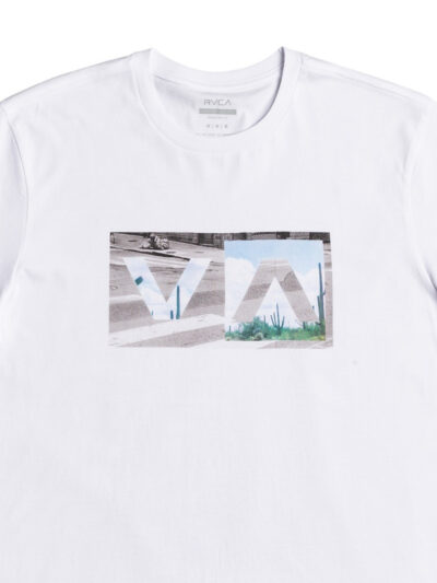 RVCA SS Balance Box white DETAIL