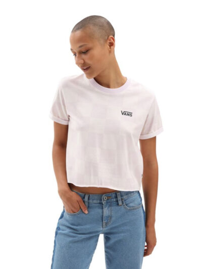 Vans Women Amplified Roll Out Tee MODEL1