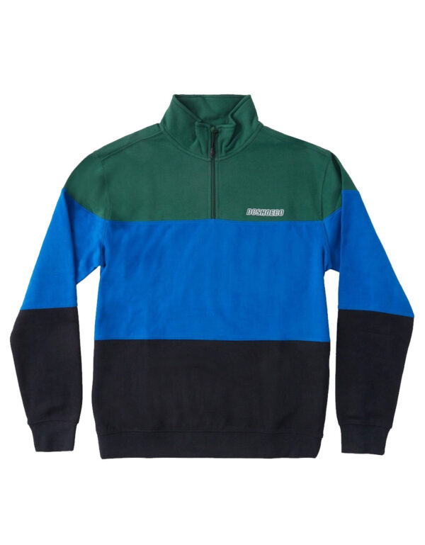 DC Shoes Downing Half Zip green 1