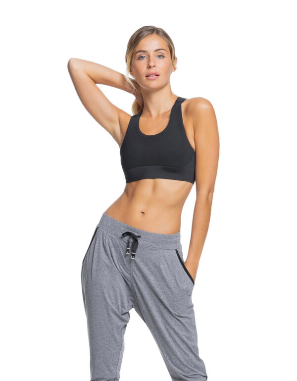 Run To Me Sports Bra anthracite 3