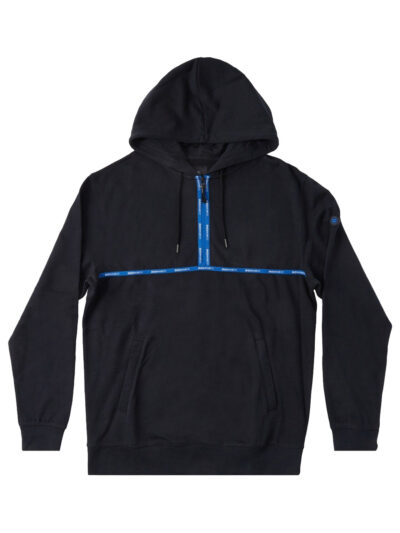 DC Shoes Vandal Half Zip Hood black