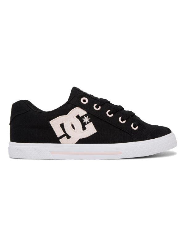 DC Shoes Women Chelsea SE black pink 1