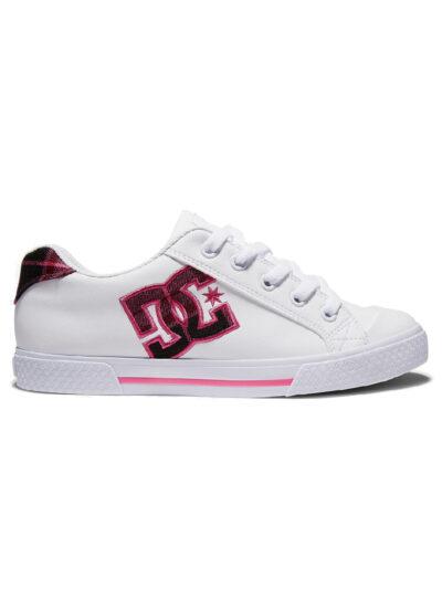 DC Shoes Women Chelsea SE white plaid 1