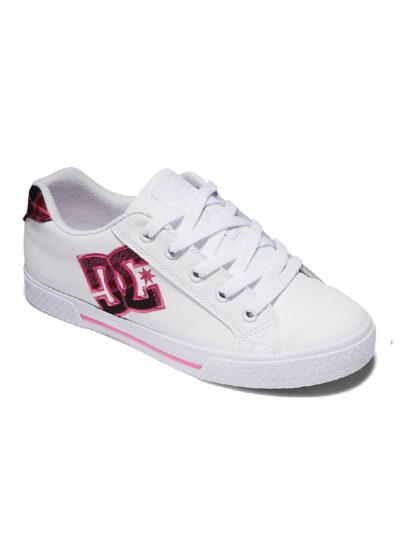 DC Shoes Women Chelsea SE white plaid 2