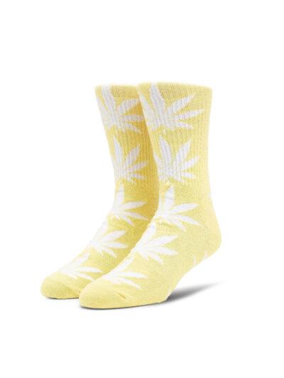 HUF Essentials Plantlife Sock lemon