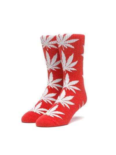 HUF Essentials Plantlife Sock red
