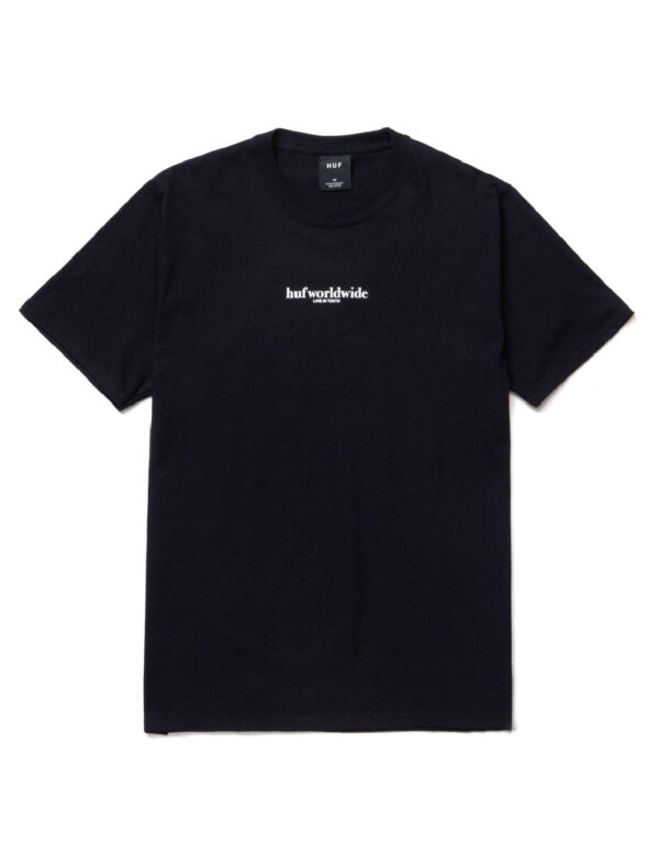 HUF SS Never Yours Tee black 1