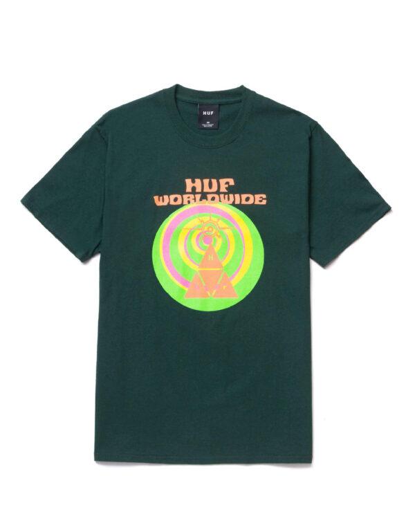 HUF SS We Give You Tee dark green 1